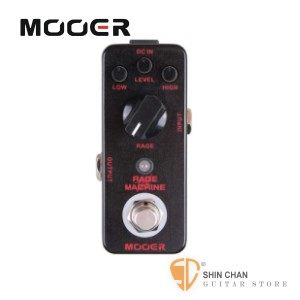 Mooer Rage Machine 重金屬破音效果器【Metal Distortion Pedal】【Micro系列RM】