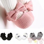 學步鞋室內軟布底嬰兒周歲寶寶布鞋子單鞋【聚可愛】
