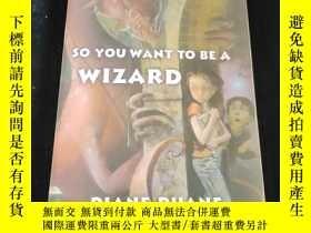 二手書博民逛書店So罕見You Want to Be a Wizard (digest): Young Wizards, Book
