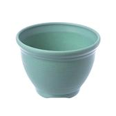 仿陶土花盆5吋 (綠)