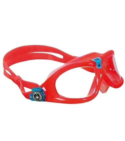 精品兒童蛙鏡 義大利名品 AQUA SPHERE Seal Kid 紅色 抗UV 最受歡迎4-12歲