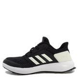 Adidas Rapidarun Knit C [AH2608] 童鞋 運動 休閒 黑 白 愛迪達