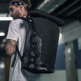 歐美潮牌超大容量雙肩包男籃球訓練包運動騎行背包旅行包卷蓋書包 MKS宜品