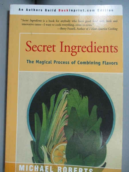 【書寶二手書T8/餐飲_MFD】Secret Ingredients: The Magical Process of C