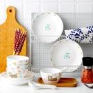 景德鎮16件卡通碗碟套裝吃飯碗陶瓷碗筷盤...
