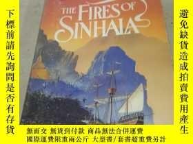 二手書博民逛書店THE罕見FIRES OF SINHALA 僧伽羅火222470