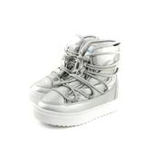 native CHAMONIX 雨靴 太空靴 厚底 銀色 中童 童鞋 42106000-1902 no786