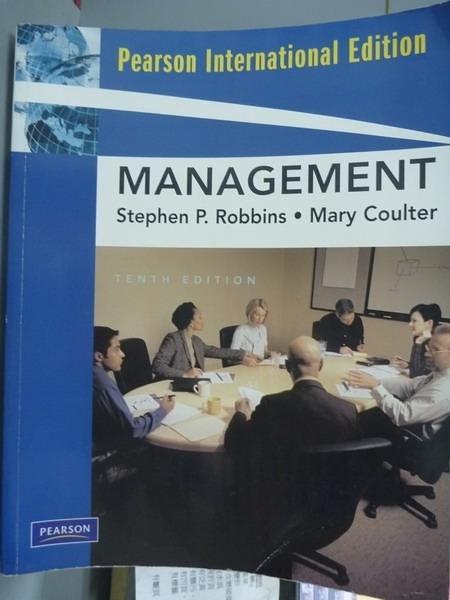 【書寶二手書T3/大學商學_QBF】Management_Robbins, Coulter_10/e
