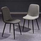 餐椅家用北歐現代簡約椅子靠背鐵藝輕奢洽談餐廳餐桌椅化妝椅凳子