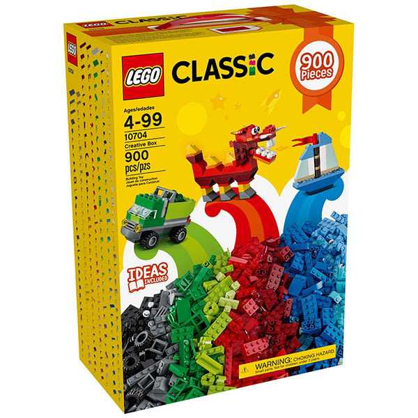 樂高積木LEGO Classic經典系列 10704 樂高創意盒