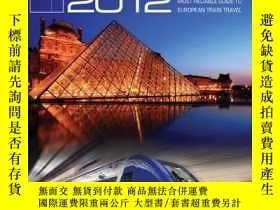 二手書博民逛書店Europe罕見by Eurail 2012: Touring Europe by Train (Europe b