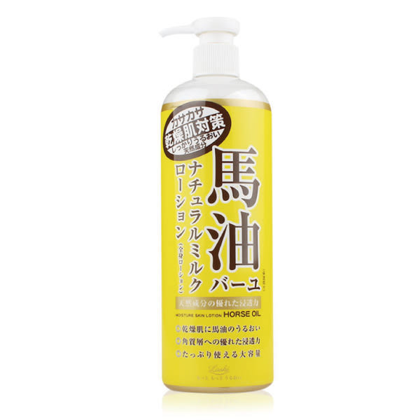 日本ROLAND 馬油柔膚保濕體乳(485ml)【櫻桃飾品】 【24992】