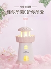 加濕器 INS風燈塔usb空氣加濕器禮物迷你便攜式小型家用臥室室內靜音