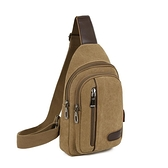 包包2020新款男士胸包帆布包斜背包/側背包男包單肩包韓版小背包休閒腰包 艾瑞斯