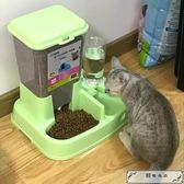貓咪用品自動喂食器貓碗雙碗自動飲水寵物自動喂食器狗碗狗狗用品