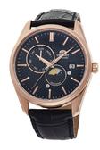 【時間光廊】ORIENT 東方錶 日月星辰 立體層次面板 自動上練 機械錶 全新原廠公司貨 RA-AK0304B