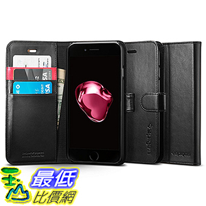 [美國直購] Spigen 042CS20545 黑色 [Wallet S] (4.7吋) iPhone 7 Case 皮夾式 手機殼 保護殼