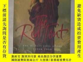 二手書博民逛書店英文原版罕見The Red Tent by Anita Diam