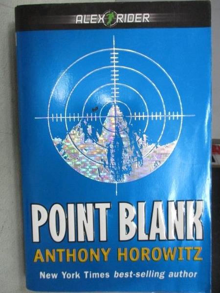 【書寶二手書T6/原文小說_MJX】Point Blank_Anthony Horowitz