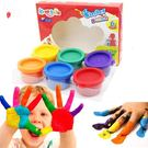 幼兒手指畫顏料無毒可水洗兒童繪畫涂鴉畫畫...