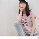 《AB11020》台灣製造.高含棉可愛貓咪短袖T恤/上衣 OrangeBear