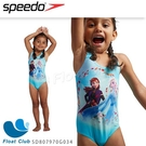 【SPEEDO】幼童運動連身泳裝 艾莎公主 SD807970G034 原價1280元