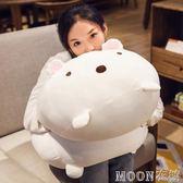 角落生物毛絨玩具大號抱抱熊娃娃公仔可愛睡覺抱枕送女孩生日禮物 moon衣櫥 YYJ