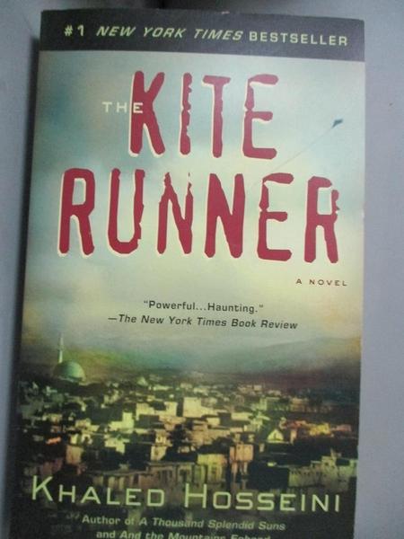 【書寶二手書T7/原文小說_OFU】The Kite Runner_Khaled Hosseini