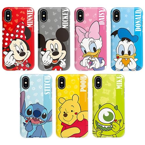 迪士尼 手指愛心 手機殼│雙層殼│iPhone 7 8 Plus SE X XS MAX XR 11 PRO 12 MINI│z8863