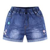 女童牛仔短褲大童女裝兒童休閒熱褲夏季新款童裝韓版女大童短褲潮