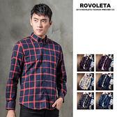 韓系格紋襯衫【CG5-DJ893】(ROVOLETA)
