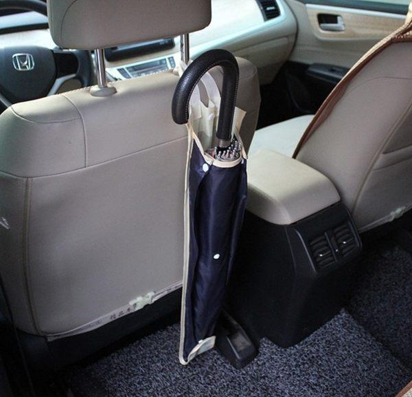 【現貨】車用防水雨傘套 汽車傘套 日式傘套 可收纳3把【H00664】