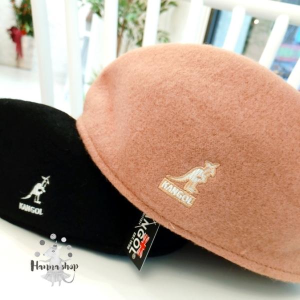 《花花創意会社》外流。韓KANGOL羊絨貝雷帽英倫復古百搭冬日款 2色【H7076】