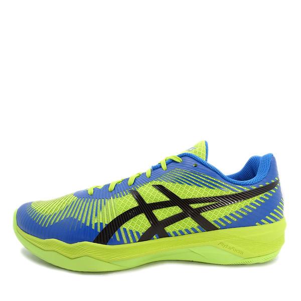 Asics Volley Elite FF [B701N-7743] 男鞋 羽排鞋 透氣 輕量 彈性 緩衝 亞瑟士 黃
