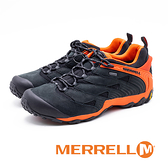 MERRELL (男) CHAMELEON 7 MID GORE-TEX郊山健行鞋 -黑