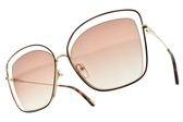 Chloe 太陽眼鏡 CE133S 205 (琥珀金-粉水銀漸層棕鏡片) 女王氣勢造型款 墨鏡 # 金橘眼鏡