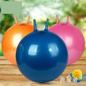 瑜伽球 成人羊角球加厚防爆跳跳球瑜伽球手柄球 BF6491【旅行者】