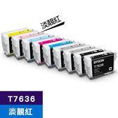 EPSON 原廠墨水匣 T763600 淡靚紅 (SC-P607適用)