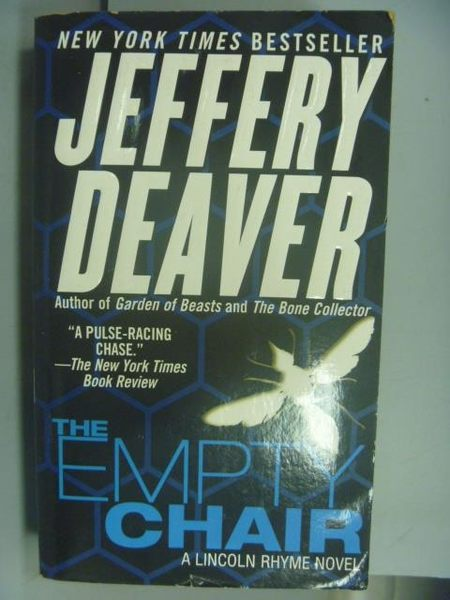 【書寶二手書T9/原文小說_NNB】The Empty Chair_Jeffery Deaver