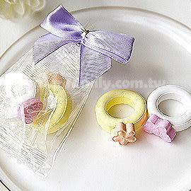 婚禮小物-真情對戒.戒指糖喜糖包Wedding Ring Candy(進口創意喜糖) 幸福朵朵