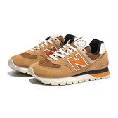 NEW BALANCE 休閒鞋 NB574 復古 卡其 咖啡色 麂皮 男女 (布魯克林) ML574DHG