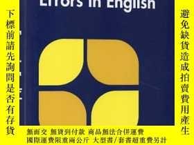 二手書博民逛書店英文原版罕見Collins Common Errors in E