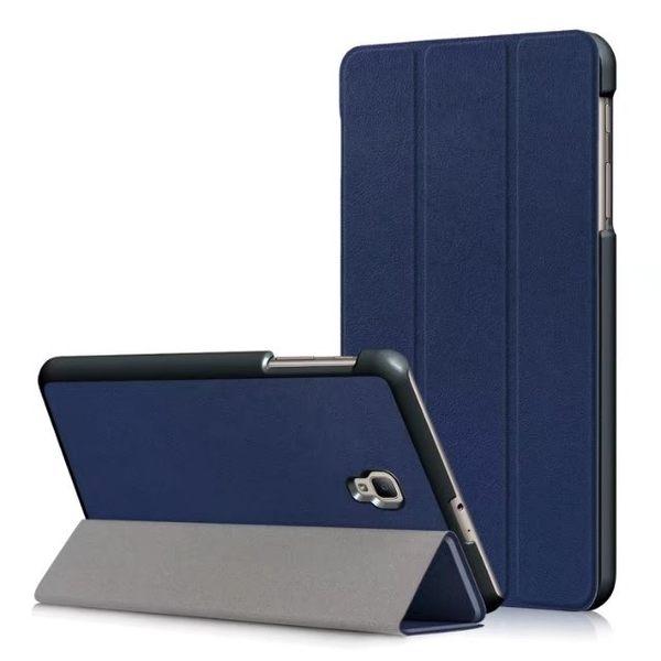 三折皮套 三星 Galaxy Tab A 8.0 2017 平板皮套 卡斯特 Samsung T380 T385 8.0吋 保護套 支架 保護殼
