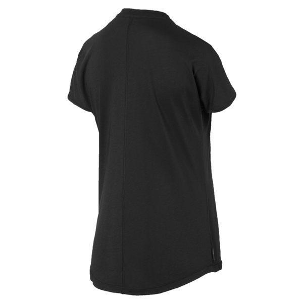 Puma Cat 女 黑色 短袖 上衣 經典系列 運動 健身 跑步 上衣  T恤 運動服飾 51831101