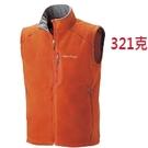 Mont-bell 日本品牌 刷毛保暖背心 (1106459 TERA 橘色 ) 男