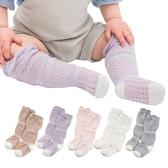 超薄鬆口鏤空中高筒兒童襪 洞洞防蚊襪-JoyBaby