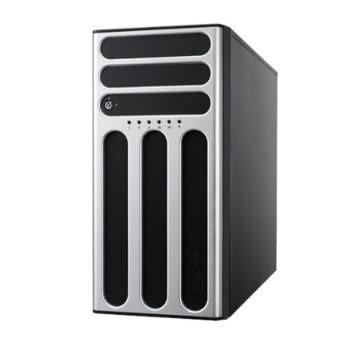 華碩 TS300-E10-PS4 熱抽直立式伺服器【Intel Xeon E-2134 / 16G 記憶體 / 500W 80+金牌 / 三年隔日到府保固】