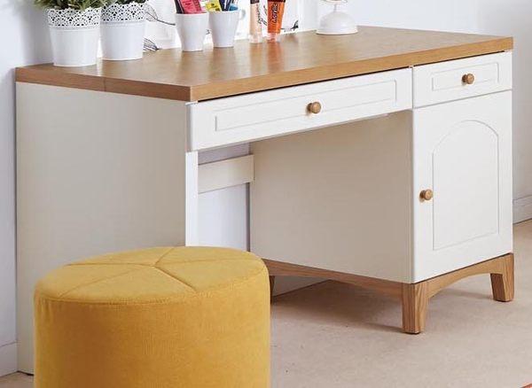 【森可家居】英式小屋書桌(不含椅) 7JX39-4