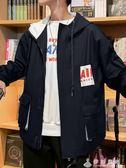 新款春秋男士工裝外套秋季ins韓版潮流寬鬆休閒學生夾克男裝 伊衫風尚