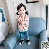 小童春裝0-1-2-3-4歲男女寶寶套頭毛衣嬰兒毛衣韓版女童上衣 歡樂聖誕節